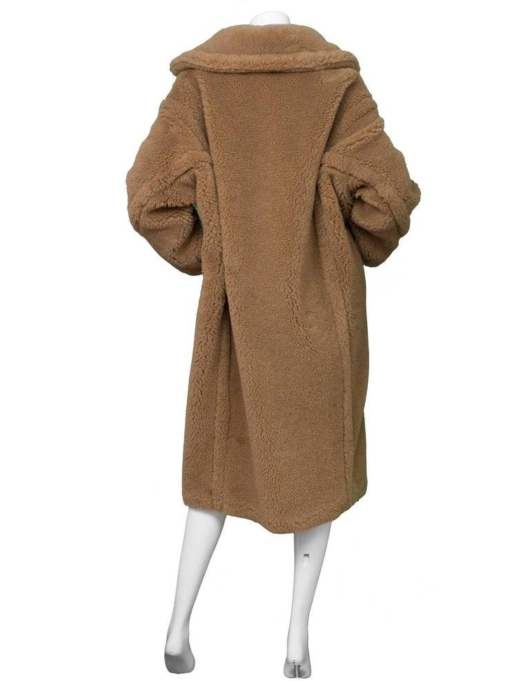 Max Mara Brown Teddy Bear Icon Coat Sz M NWT at 1stdibs 4717412fe68