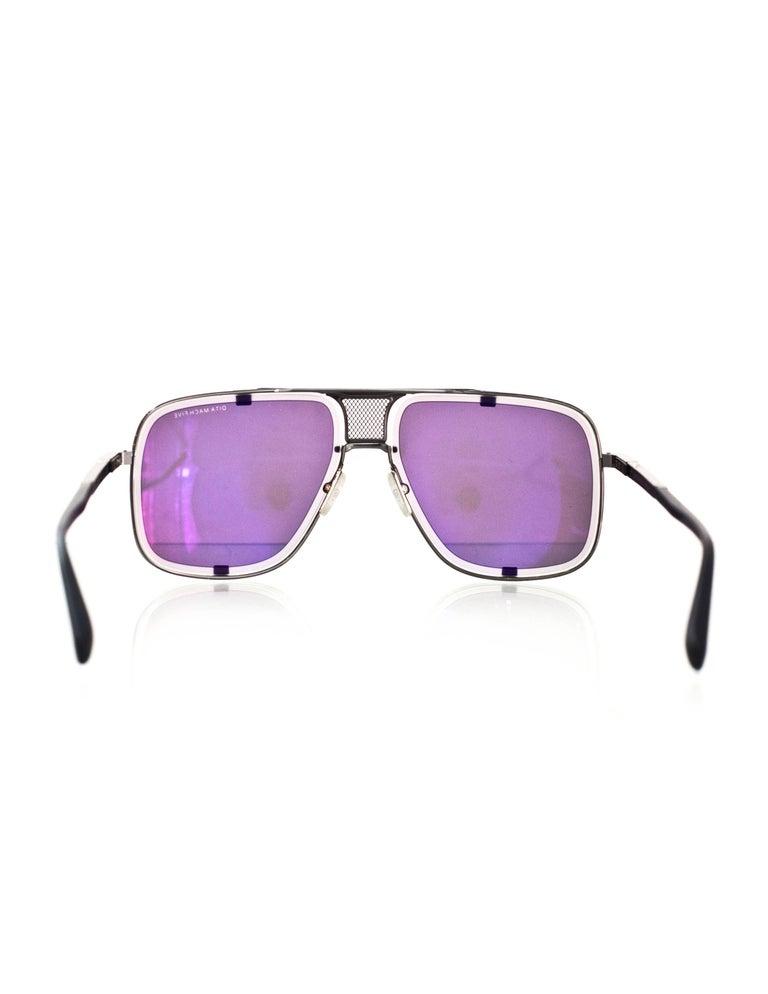 Dita New 2017 Black Limited Edition Mach Five Sunglasses