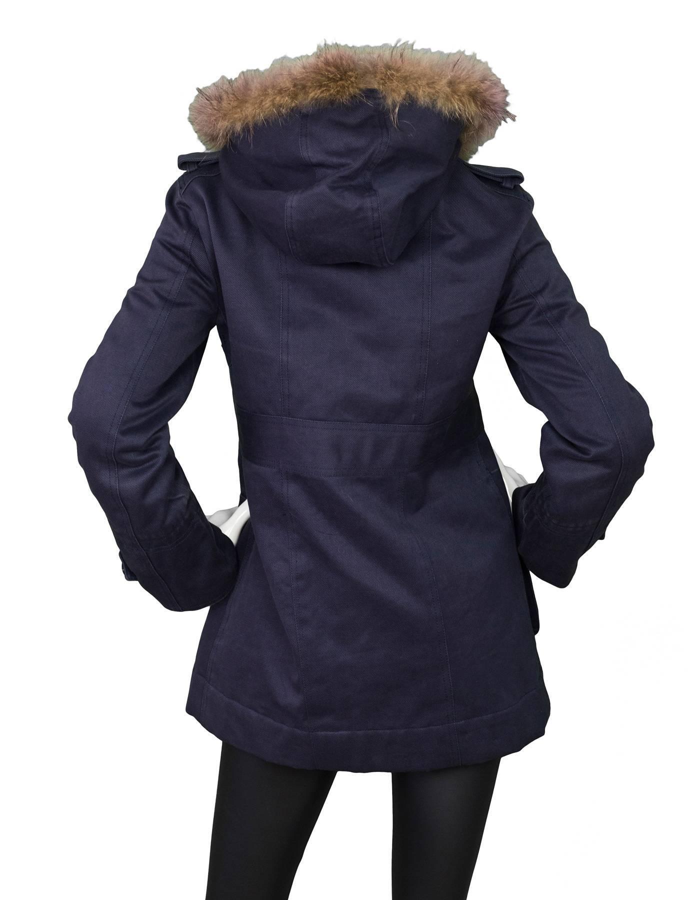 Pre London Jacobs Parker Coat Black