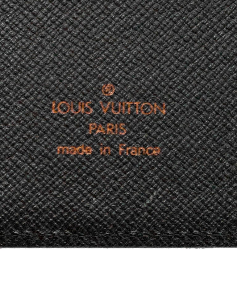 Louis Vuitton Red Epi Leather Large Ring Agenda Book 9