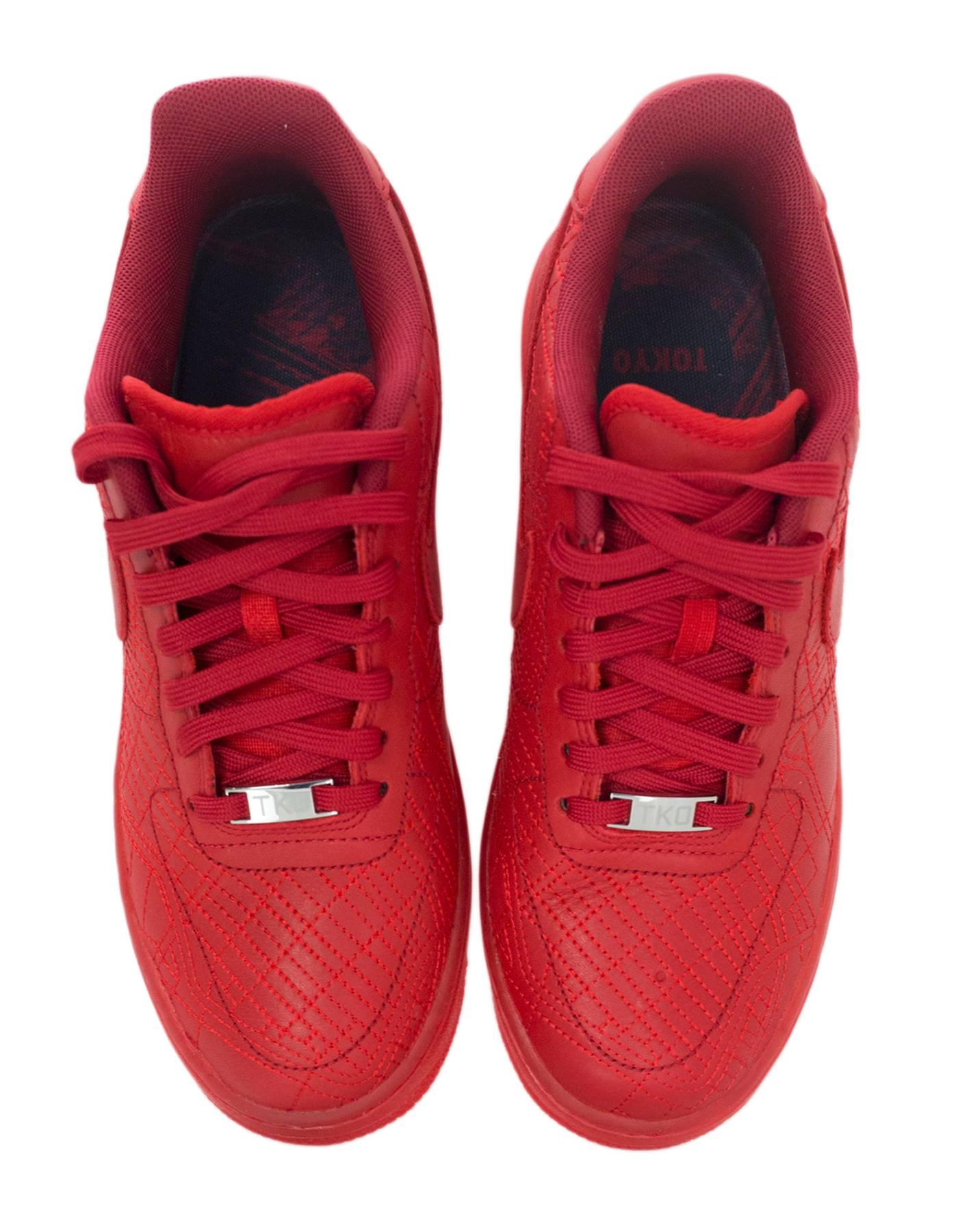 Wmns 1 Edition Collection Red Sneakers Limited Force Nike City Air Ybv7yf6g