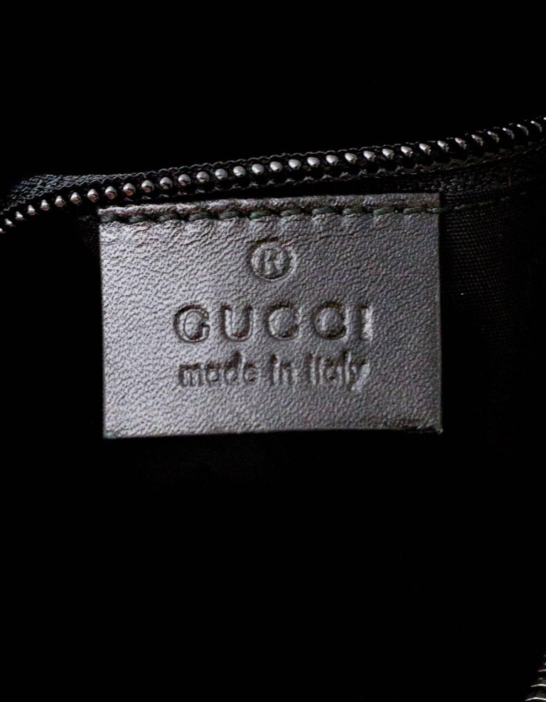 4dffa50cb Gucci Black Coated Imprime Monogram Large Duffle Bag w. Dust Bag For Sale 4