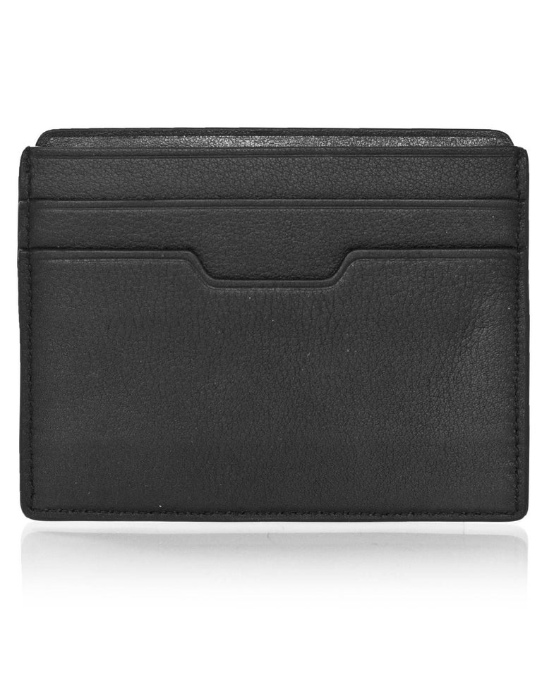 Rag & Bone Black Leather Card Holder In Excellent Condition For Sale In New York, NY