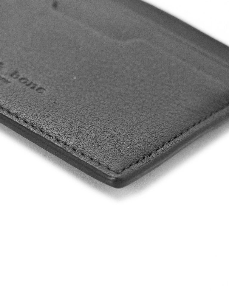 Rag & Bone Black Leather Card Holder For Sale 1