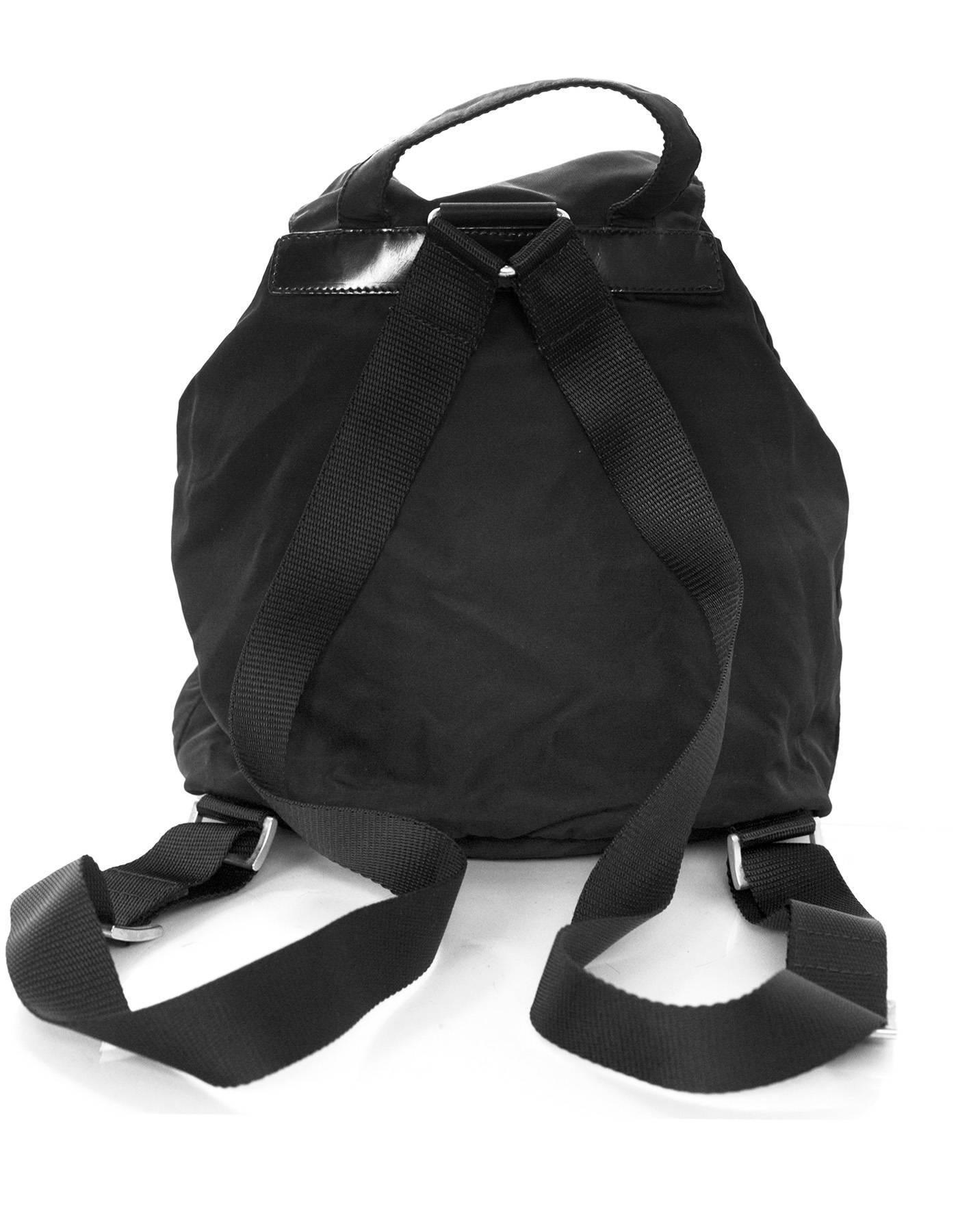 a42f68602f59 ... new style prada black tessuto nylon backpack bag at 1stdibs f5c58 08af1