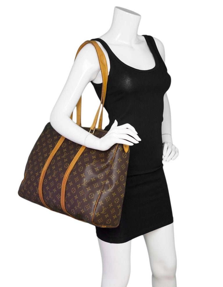 Louis Vuitton Monogram Sac Flanerie 45 Bag Made In  France Year of  Production  1993 65450e31f1