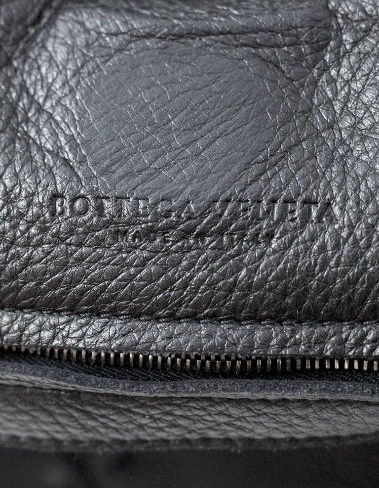 92d78bbd75df3 Bottega Veneta Black Deerskin Leather Large Cervo Hobo Bag rt. $1,780 For  Sale 3