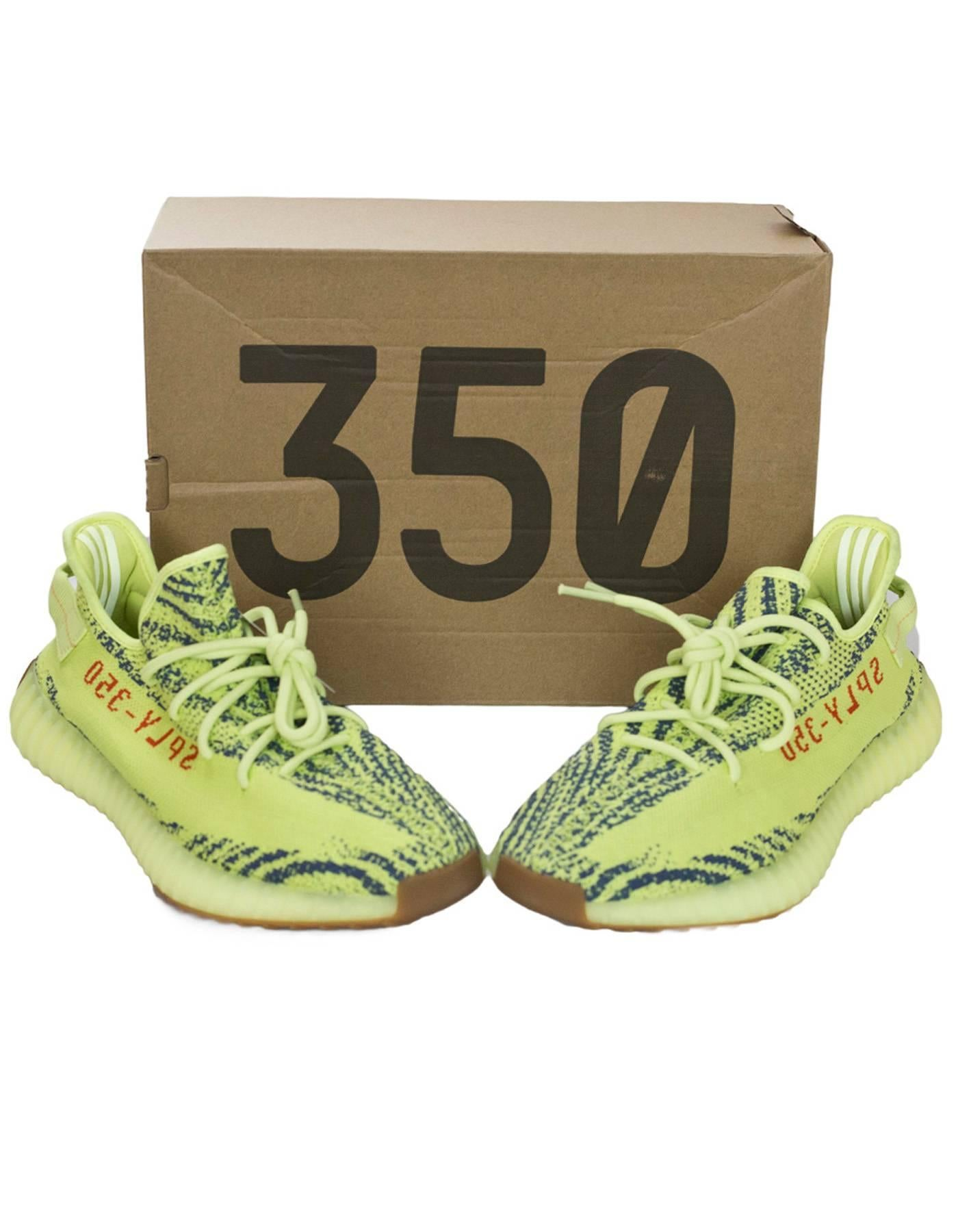 2faf27d7c ... new zealand adidas x kanye west yeezy boost 350 v2 semi frozen yellow  2.0 sneakers sz