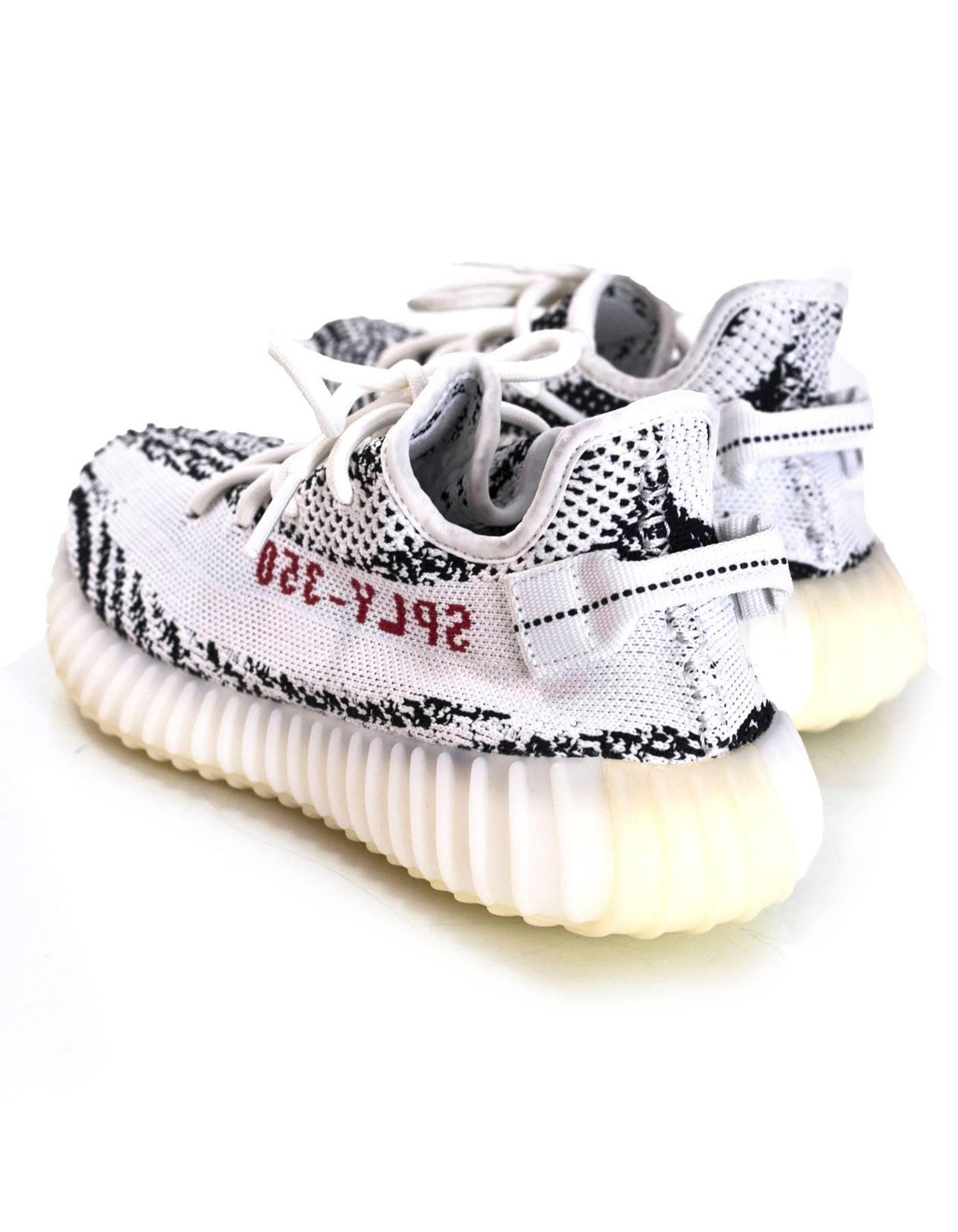 c6288e5ffd8 Adidas x Kanye West Yeezy Boost 350 V2 Zebra Sneakers Sz 6 For Sale at  1stdibs