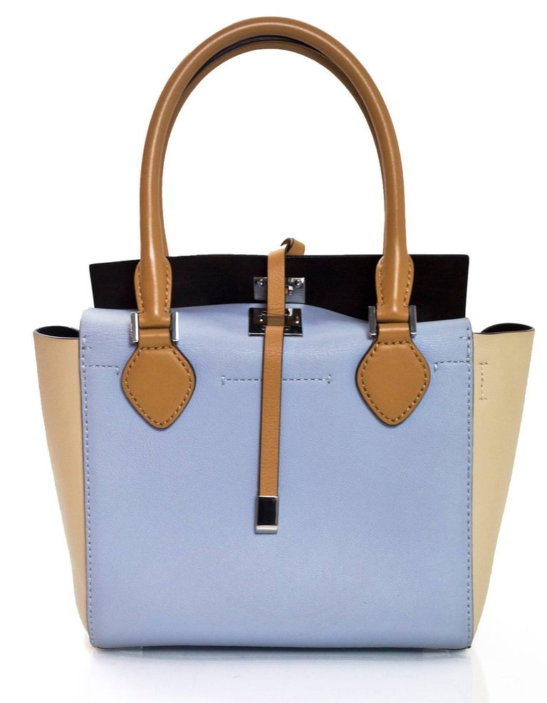 ab9f1f9111a4d5 Michael Kors Collection Tri-Color Mini Miranda Tote Bag For Sale at ...