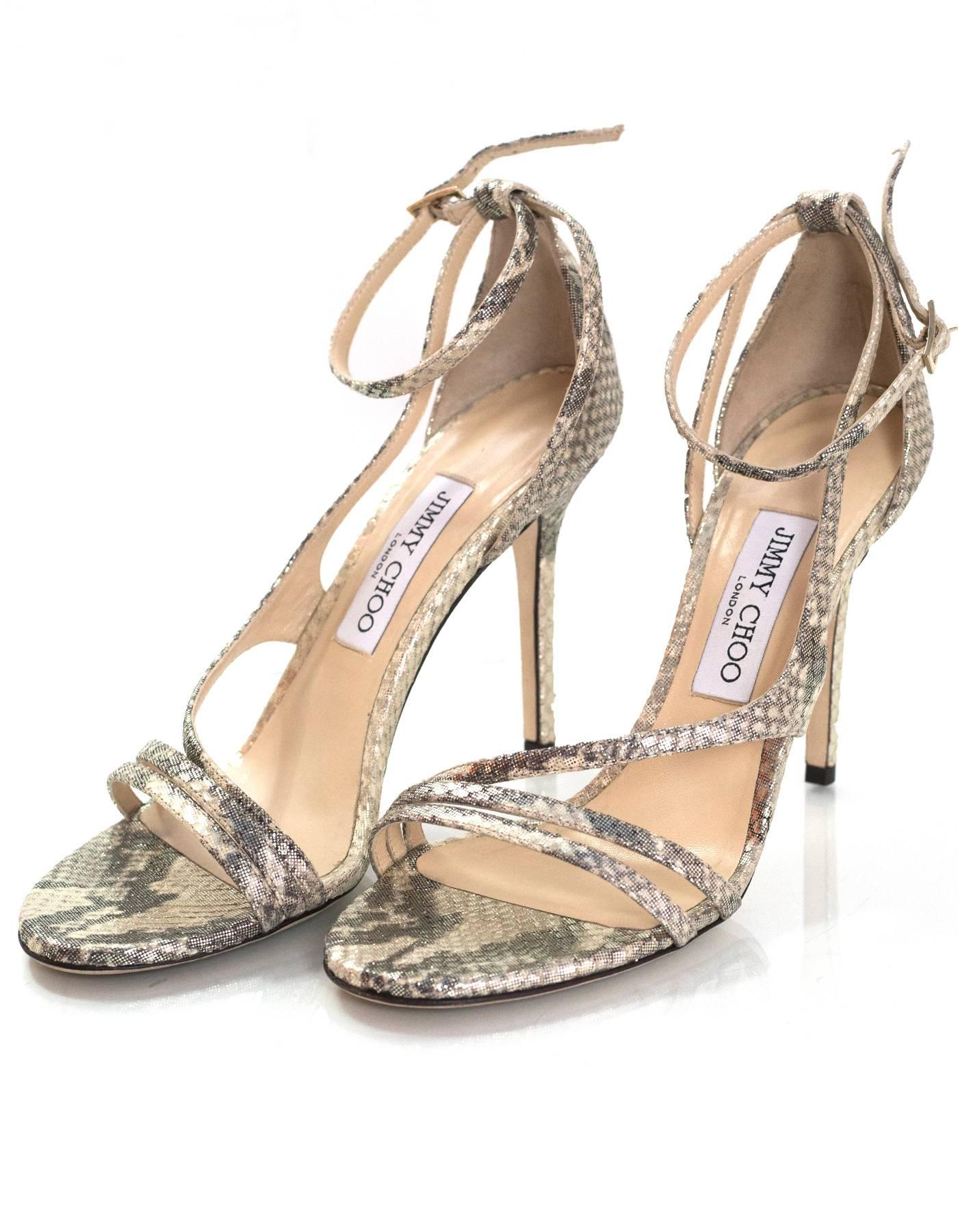 Pre-owned - Patent leather sandals Jimmy Choo London jUgJL