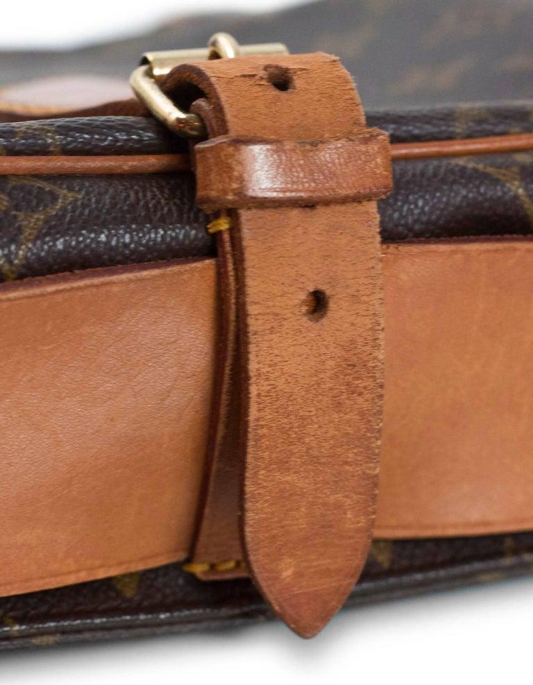 Louis Vuitton Monogram Canvas Cartouchiere MM Messenger Bag For Sale 1