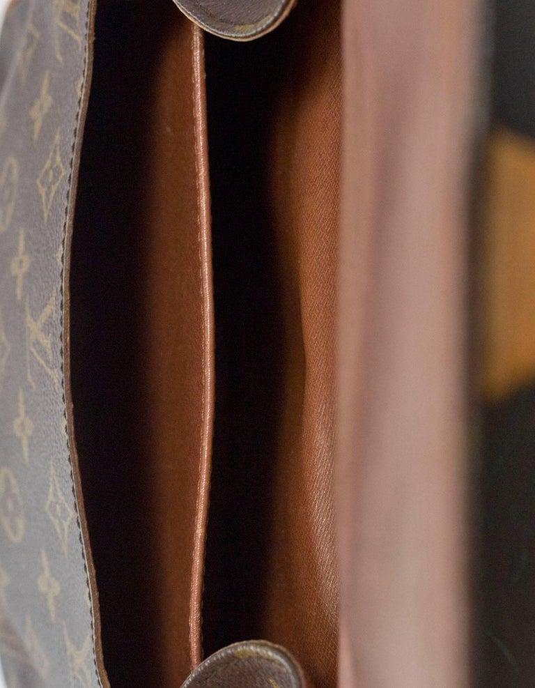Louis Vuitton Monogram Canvas Cartouchiere MM Messenger Bag For Sale 4