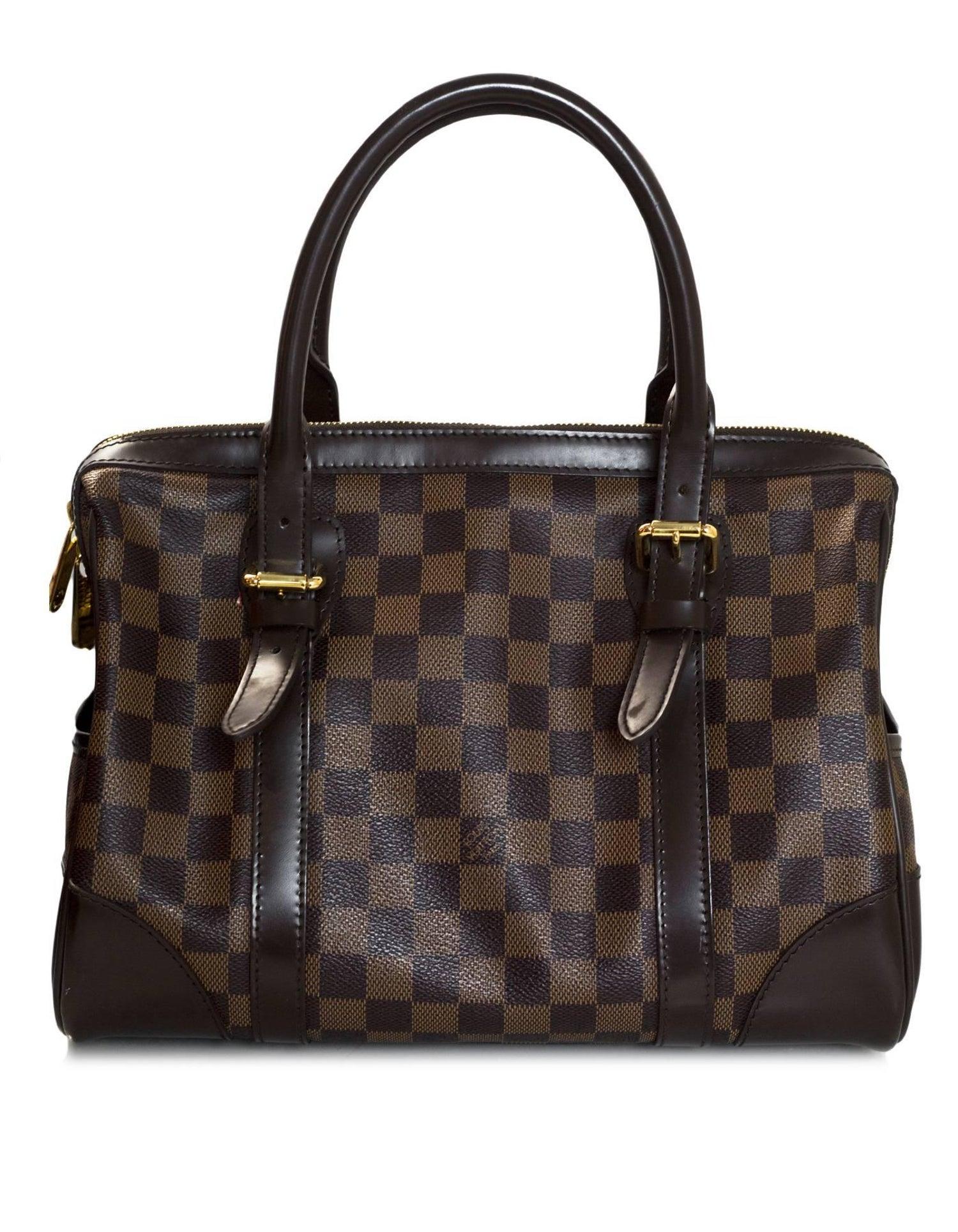 Louis Vuitton Damier Canvas Berkeley Bag with Dust Bag For Sale at 1stdibs 66a1edb10d83a