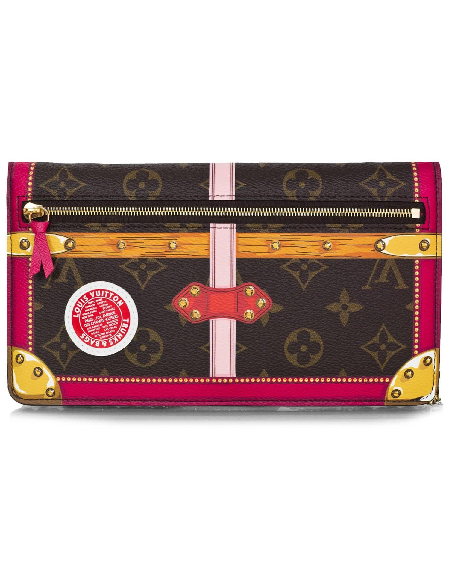 8a2203342fa2 Louis Vuitton 2018 Limited Edition Summer Trunks Pochette Weekend Crossbody  Bag For Sale at 1stdibs