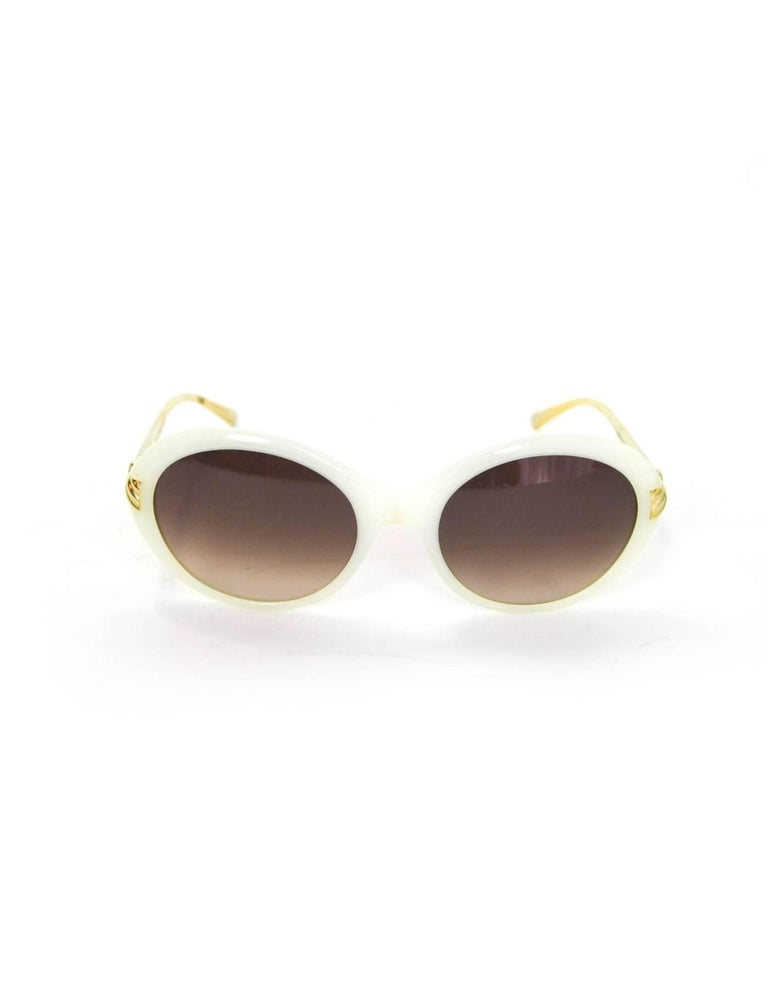 243e4a0608 David Yurman Ivory Waverly Sunglasses Features cable arms Made In  Japan  Color  Ivory