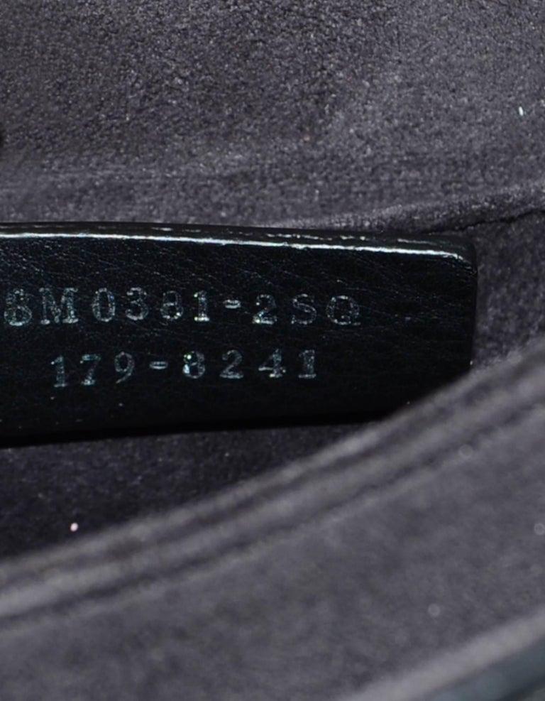 ab7e515c207 Fendi Black Leather Kan I Mini Whipstitch Stones Bag For Sale at 1stdibs