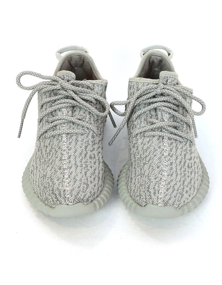 948597930a8 Gray Adidas x Kanye West Yeezy Boost 350 Moonrock Sneakers Men s 6.5   Women s 7.5 For