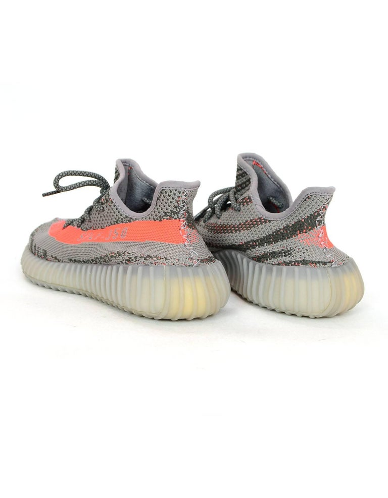 0403644a4bfa2 Adidas x Kanye West Yeezy Boost 350 V2 Beluga Grey Sneakers Men s Sz 6 In  Excellent