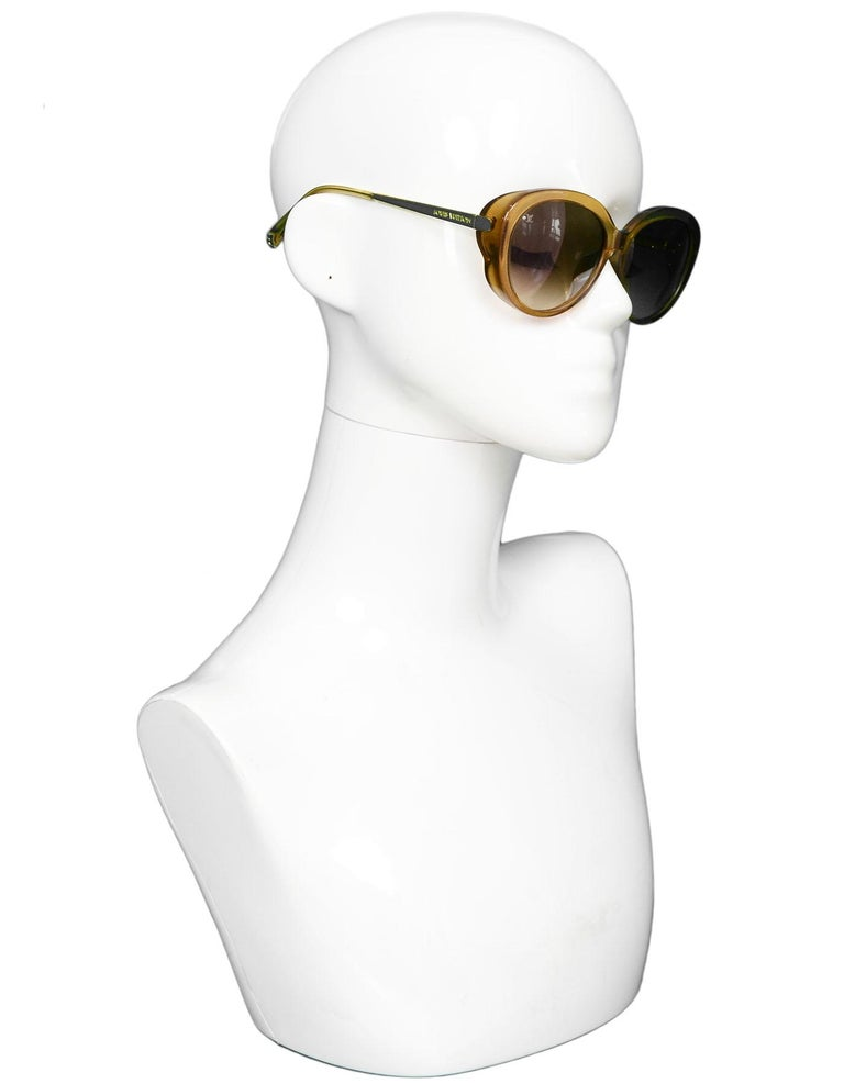 3ccdde00a488 Louis Vuitton Honey Glitter Acetate Bluebell Sunglasses Features fine  glitter sparkles in frame Made In