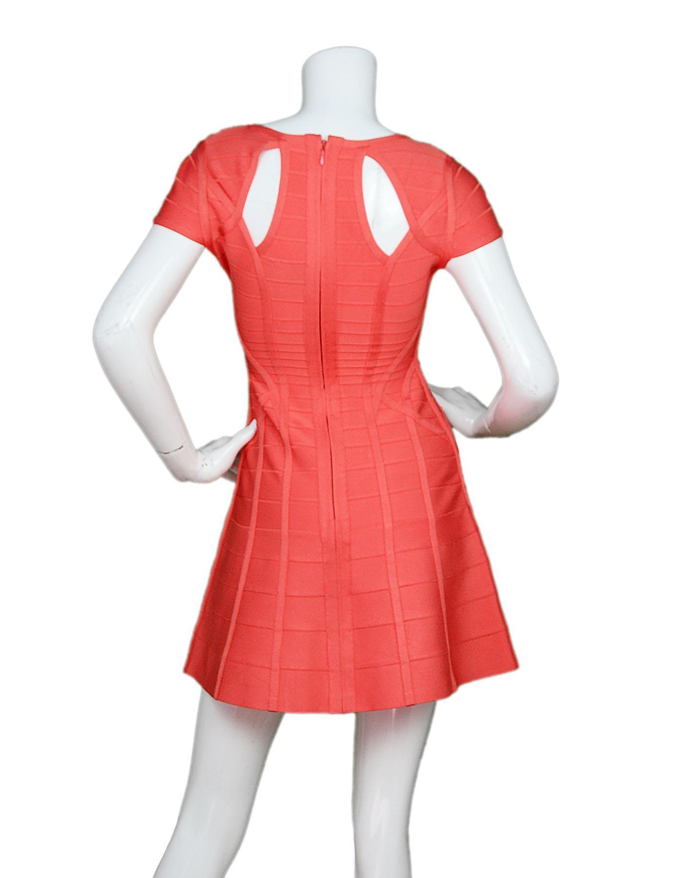 75d066971593 Herve Leger Sunburst Simona Bandage Flare Dress Sz XS For Sale at 1stdibs