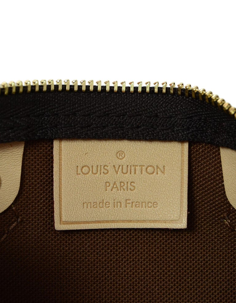 2f95b65c7c5 Louis Vuitton LIKE NEW SOLD OUT Monogram Nano Mini Speedy Crossbody Bag For  Sale 2