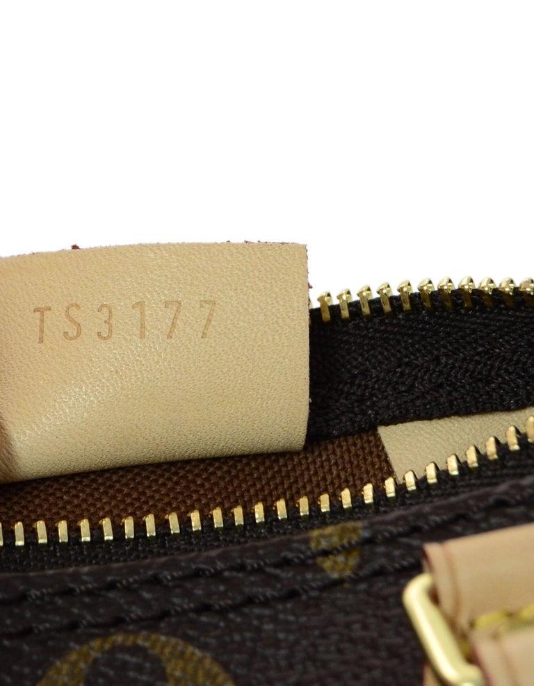 52e2d557c5d Louis Vuitton LIKE NEW SOLD OUT Monogram Nano Mini Speedy Crossbody Bag For  Sale 3