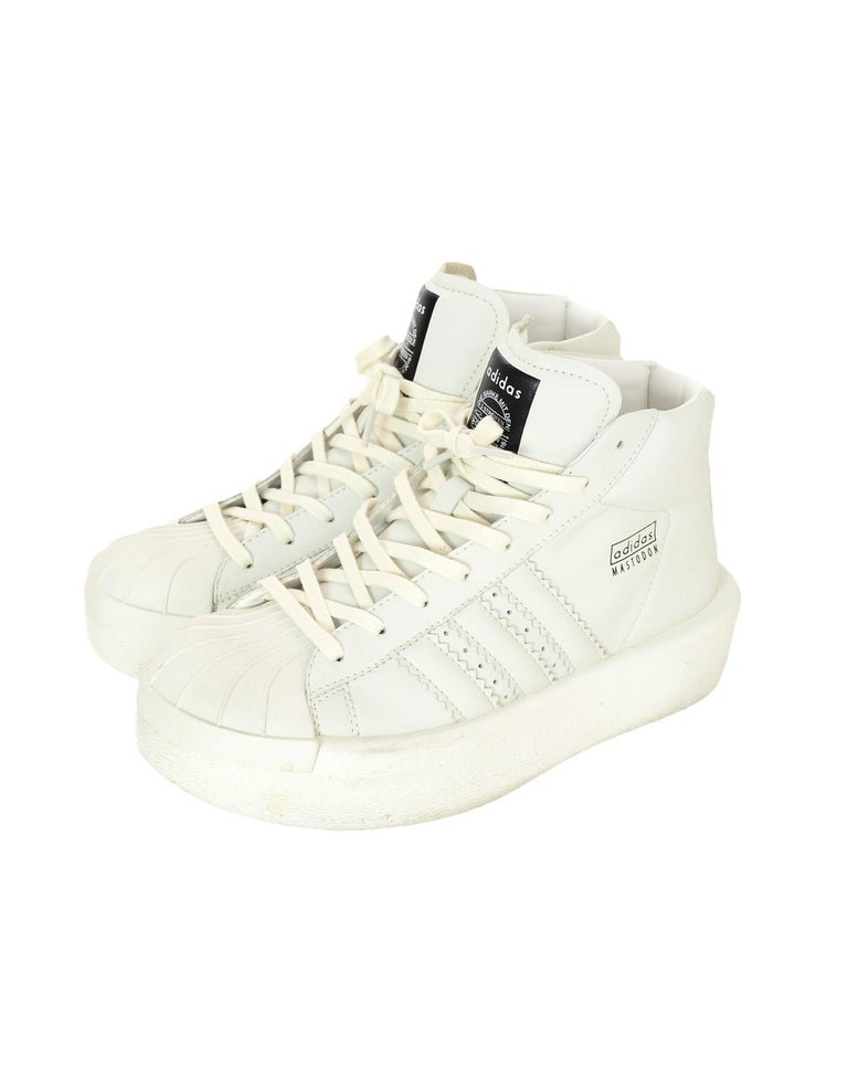 promo code 9f8cc 9afe3 Adidas x Rick Owens Unisex Mastodon Pro Model Sneakers Made In  China  Color  Cream