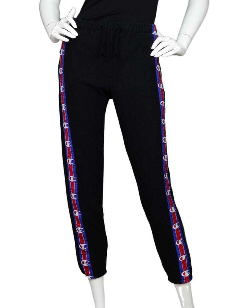 6aa8e0569 Vetements X Champion 2017 In Progress Sweats sz M These track pants feature  Champion logo trim