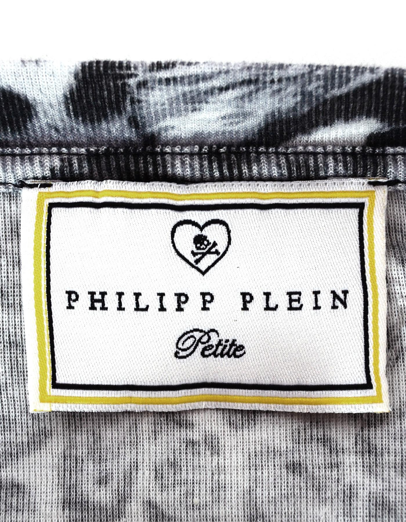 Sale.. Rare Philipp Plein Cardigan JacketBig Print logoRare designSize on tag Medium.