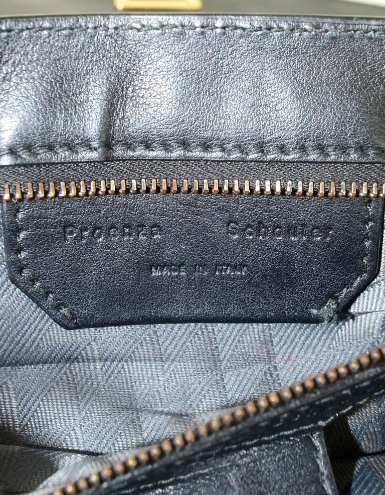 Proenza Schoulder Copper Metallic Lambskin Medium PS1 Satchel Bag For Sale 1