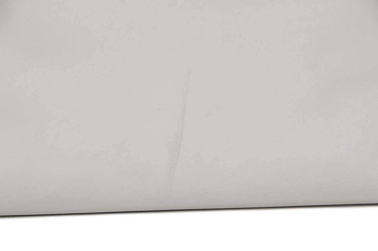 Fendi White Leather Large Peekaboo Bag w Pink Python Lining rt. $5,620 3