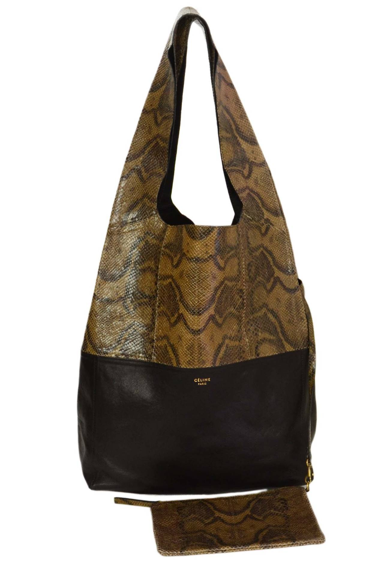 With its smooth leather body, slender shoulder straps and magnetic snap closure, this tote with tassel detailing is a commuting must-have. Unlined, these bags feature a contrast interior and built-in zipper pocket complete with RFID-protected card slots.