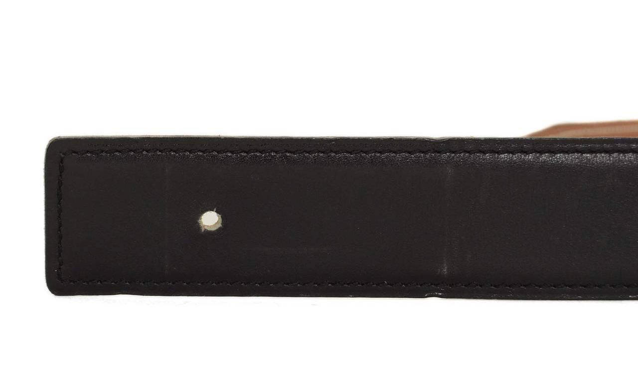 hermes leather belt strap