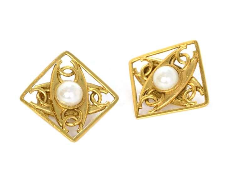 Chanel Cc Diamond Earrings Price