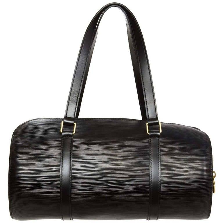 02dc42bd5d9 Louis Vuitton Soufflot Handbag Bag Epi Leather M52222