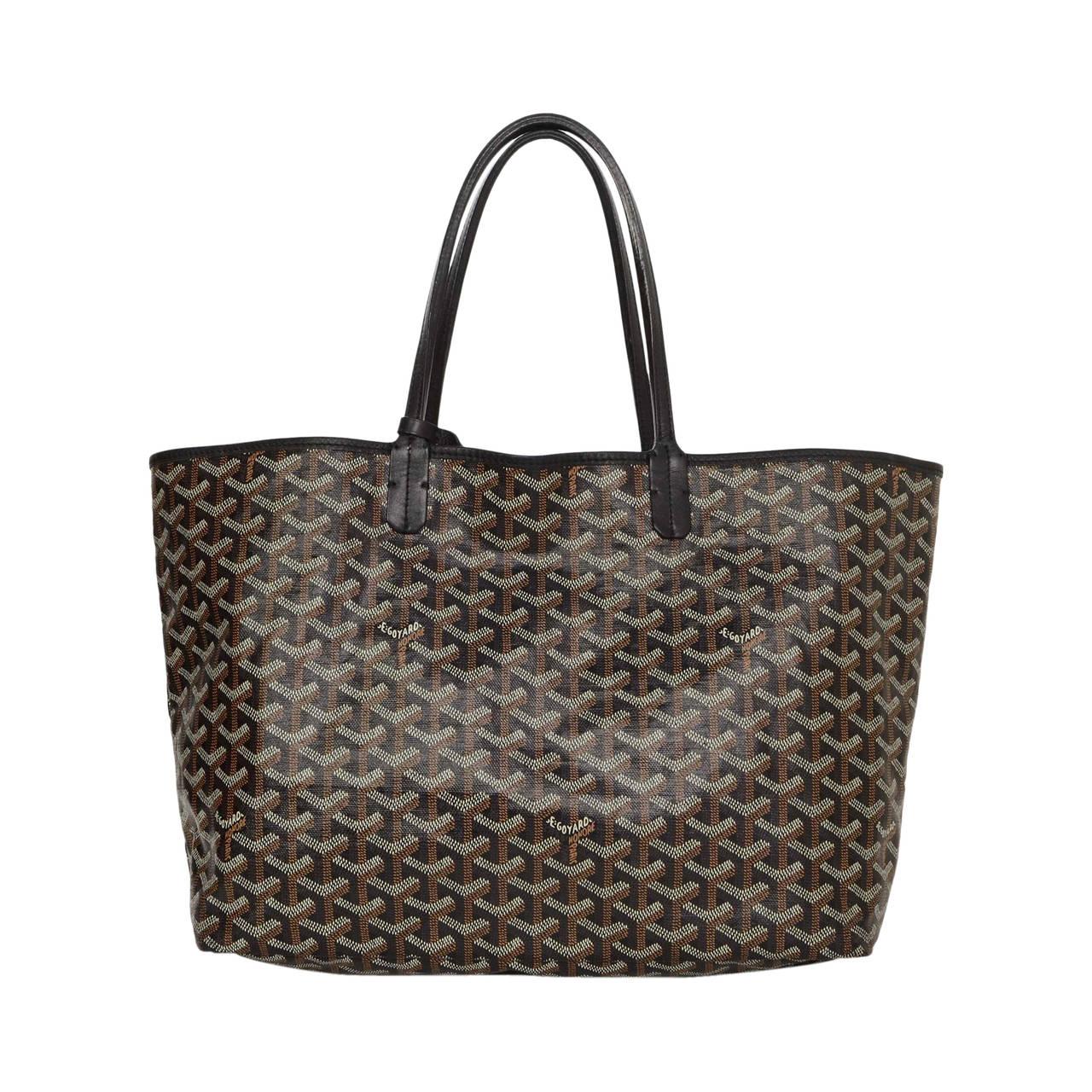 Goyard Chevron Print Coated Canvas St Louise Pm Tote Bag At 1stdibs. Gucci  Handbag Gg Large ... 7678a450d53cf