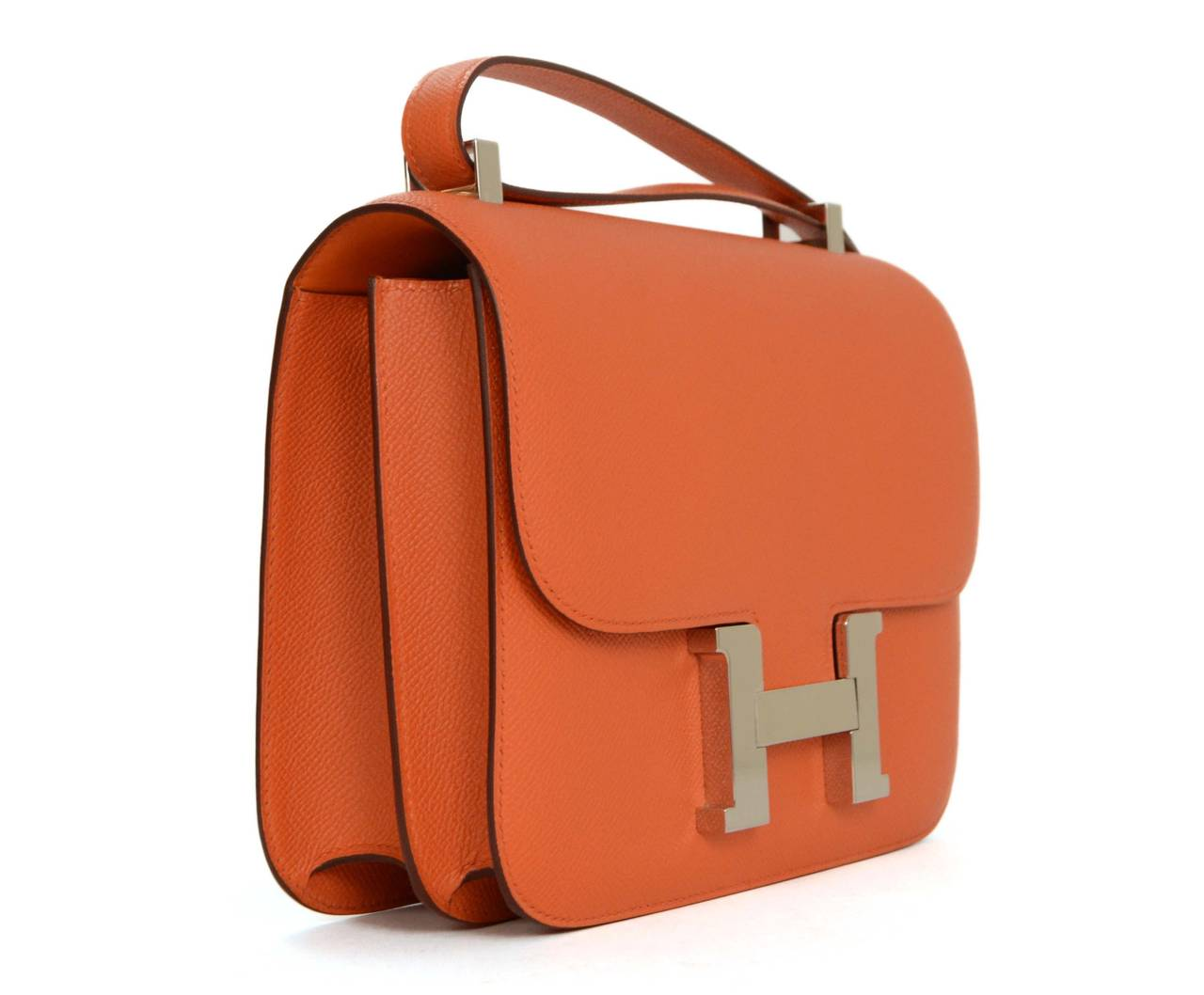 birkins bag price - Hermes Orange Epsom 24cm H Constance Bag PHW at 1stdibs