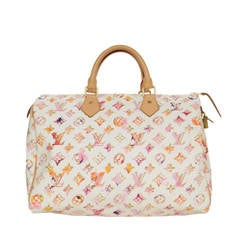 Louis Vuitton Water Color Monogram 35cm Speedy Bag GHW