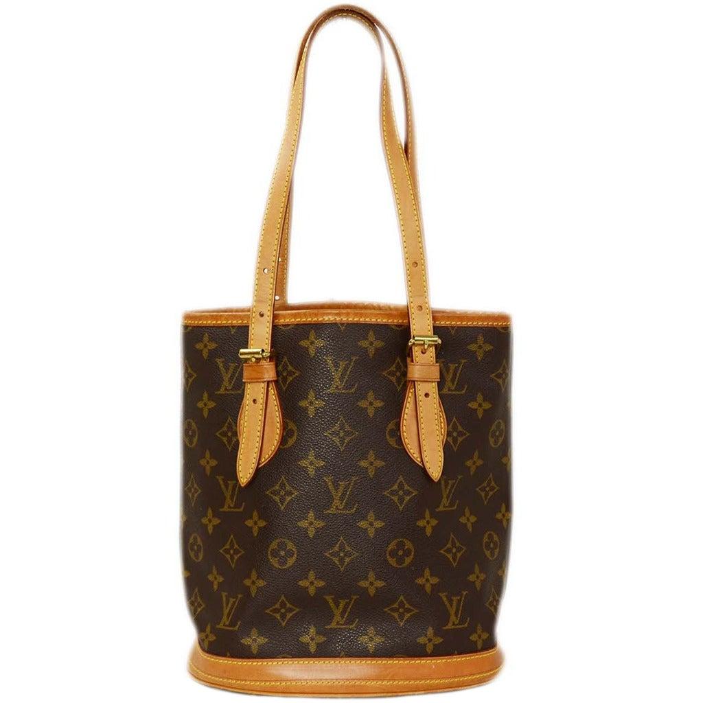 louis vuitton monogram bucket bag pm at 1stdibs