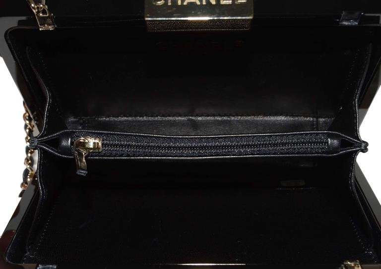 Chanel Black & Gold Collectors Lego Boy Bag GHW 6