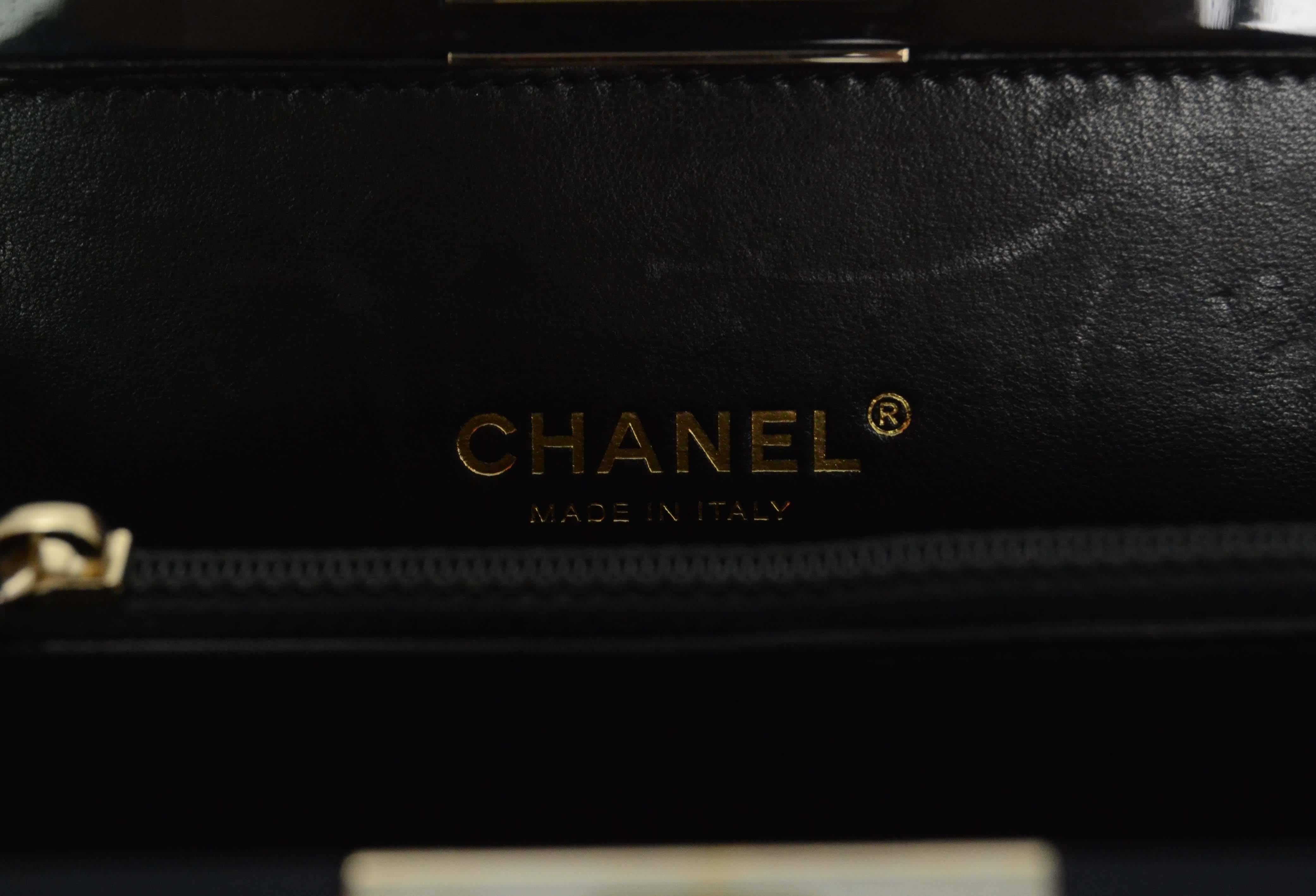 ba0f3bfc214e Chanel Black and Gold Collectors Lego Boy Bag GHW at 1stdibs