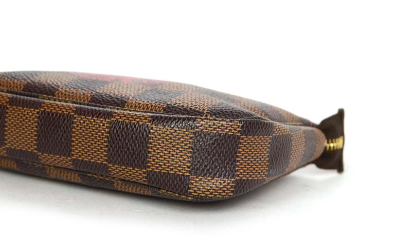 louis vuitton collectors damier trunks and bags mini pochette for sale at 1stdibs