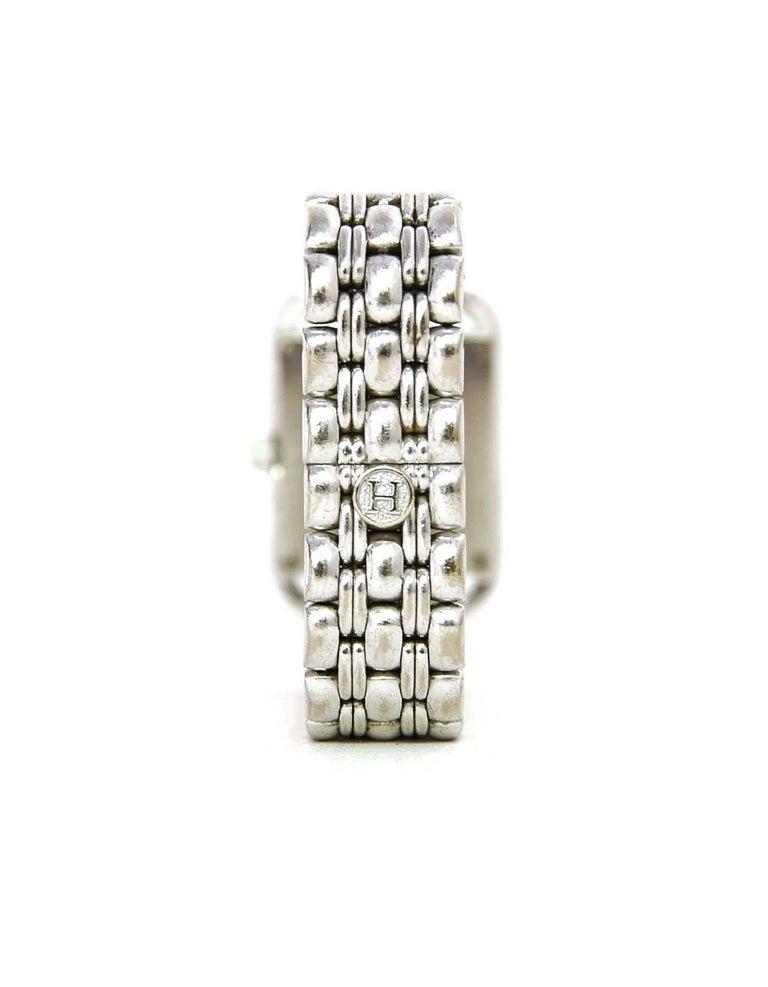 Hermes Lady's 18k White Gold & Diamond Cape Cod PM Wristwatch 4