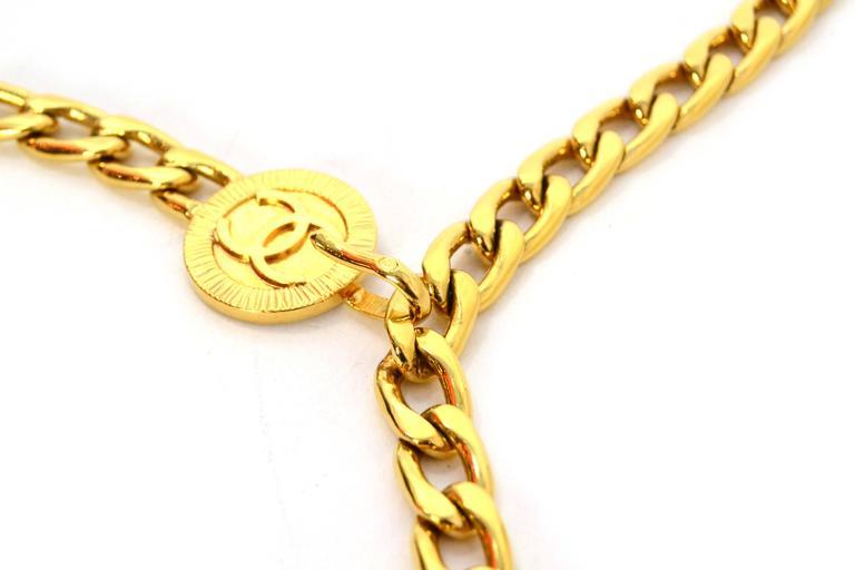 Vintage gold chain belt 1963