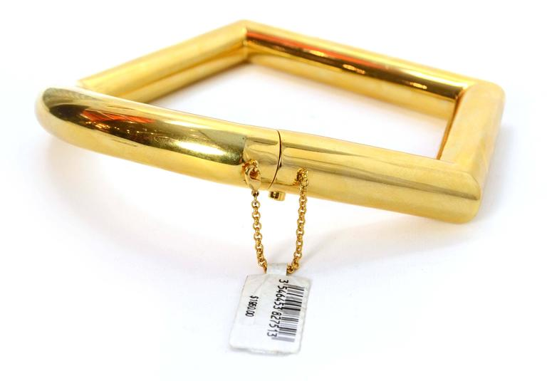 Celine Gold Geometric Choker Necklace 3