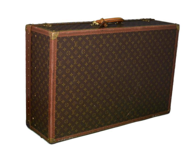 Louis Vuitton Vintage Monogram 80cm Hard Suitcase 2