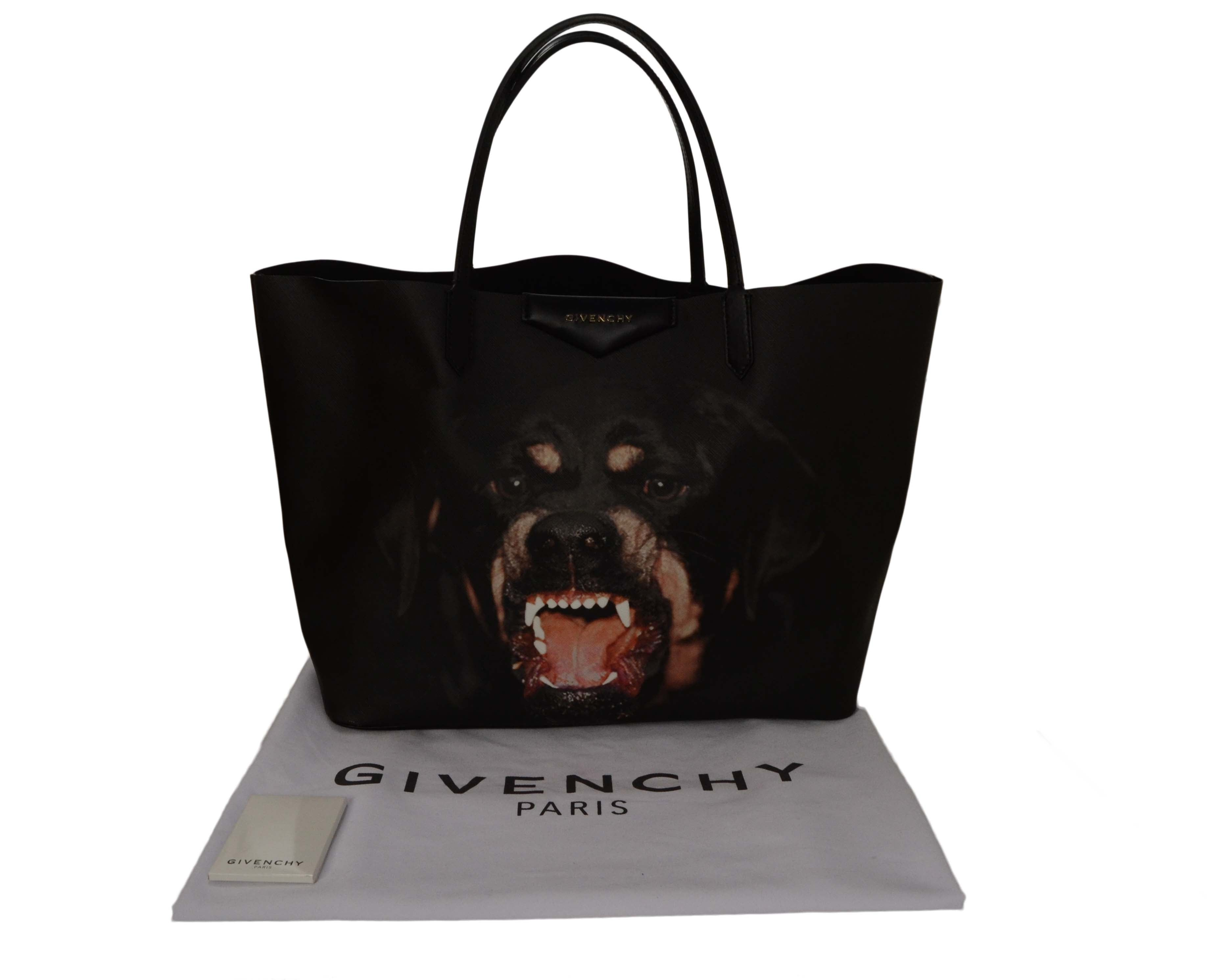 Givenchy Black SOLD OUT Rottweiler Large Antigona Tote Bag at 1stdibs 65c1cdc645eea