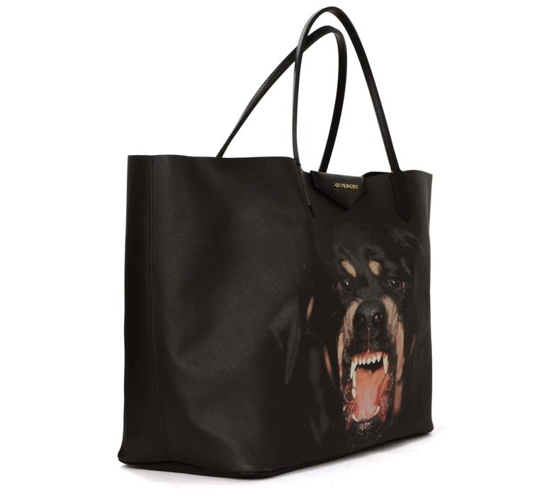 Features Givenchy s sold out rottweiler print Made In  Hungary Color  Black  Hardware  Goldtone 0fd3822b1d85c