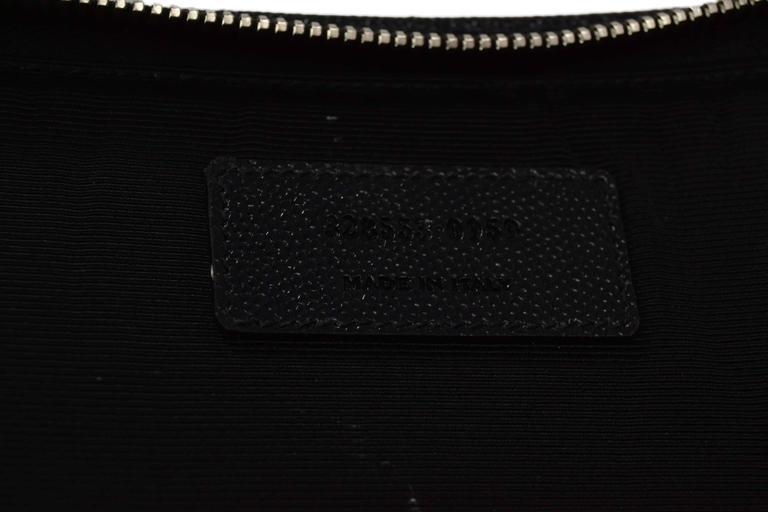 Saint Laurent Black Leather iPad Case/Clutch Bag rt $560 8